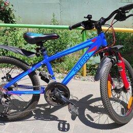 """Велосипеды - Велосипед подростковый Stern Attack 20"""" Sport, 0"""