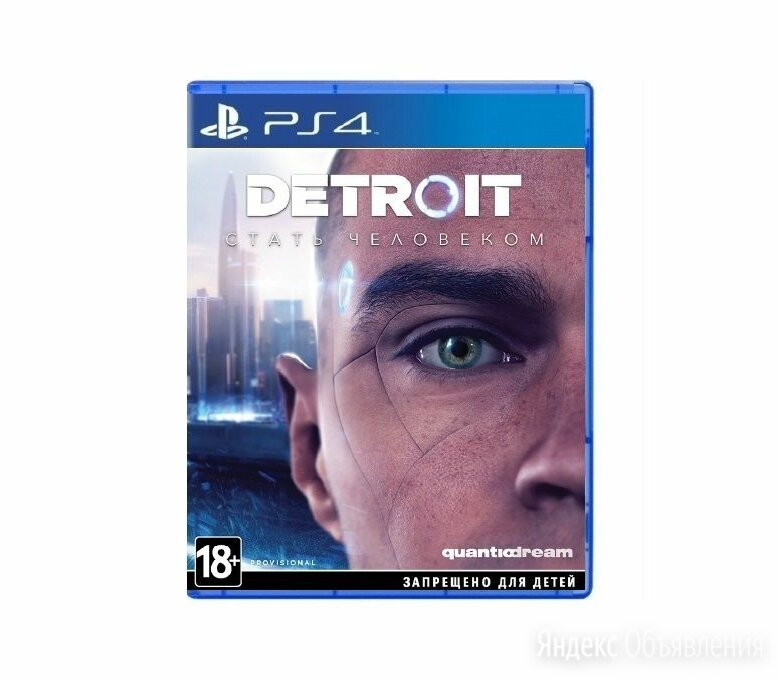 PS4 Detroit Стать Человеком по цене 1000₽ - Игры для приставок и ПК, фото 0