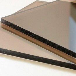 Поликарбонат - Монолитный поликарбонат 2 мм Novattro бронза Т 2,05х3,05 м, 0