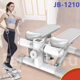 Степперы - Степпер JB-1210Y с эспандерами. Доставка в подарок, 0