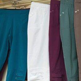 Капри и бриджи - Бриджи белые 58 размер новые, 0