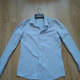 Рубашки - Стильная школьная рубашка, 0
