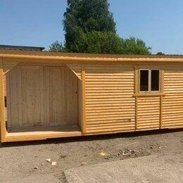 Готовые строения - Бытовка деревянная 6, 0