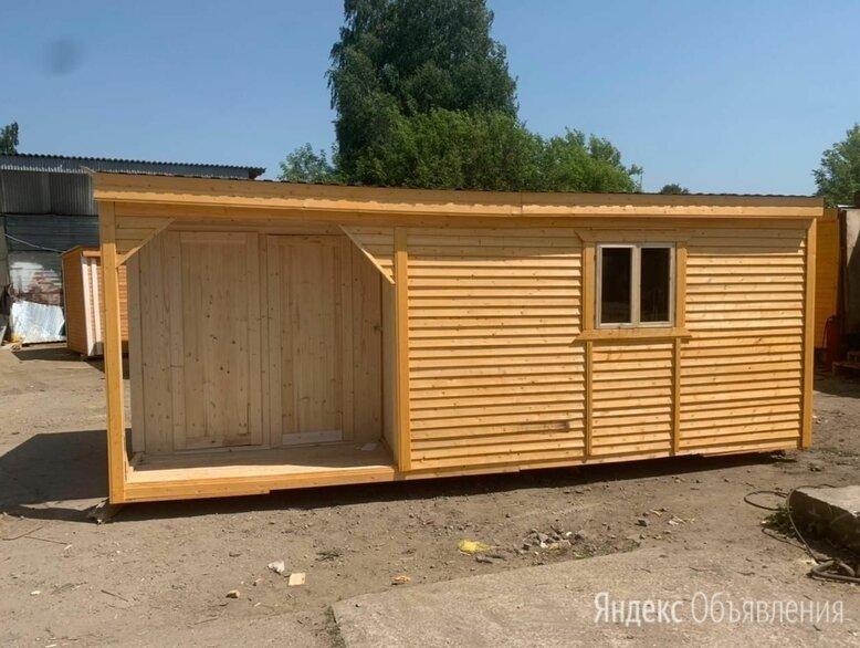 Бытовка деревянная 6 по цене 85000₽ - Готовые строения, фото 0
