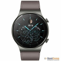 Умные часы и браслеты - Смарт часы HUAWEI WATCH GT 2 Pro Vidar-B19V Nebula Gray, 0