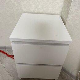 Комоды - Мальм комод с 2 ящиками, белый40x55 см икеа, 0