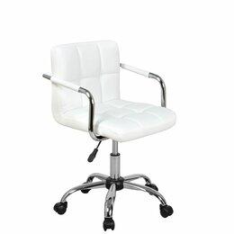 Компьютерные кресла - Кресло для персонала TERRY 9400, сиденье экокожа, основание хром, 0