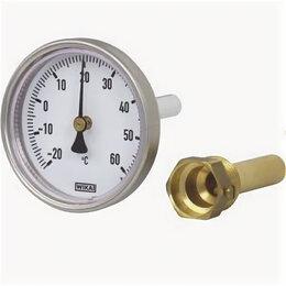 Метеостанции, термометры, барометры - Термометр биметаллический Wika А50, 0