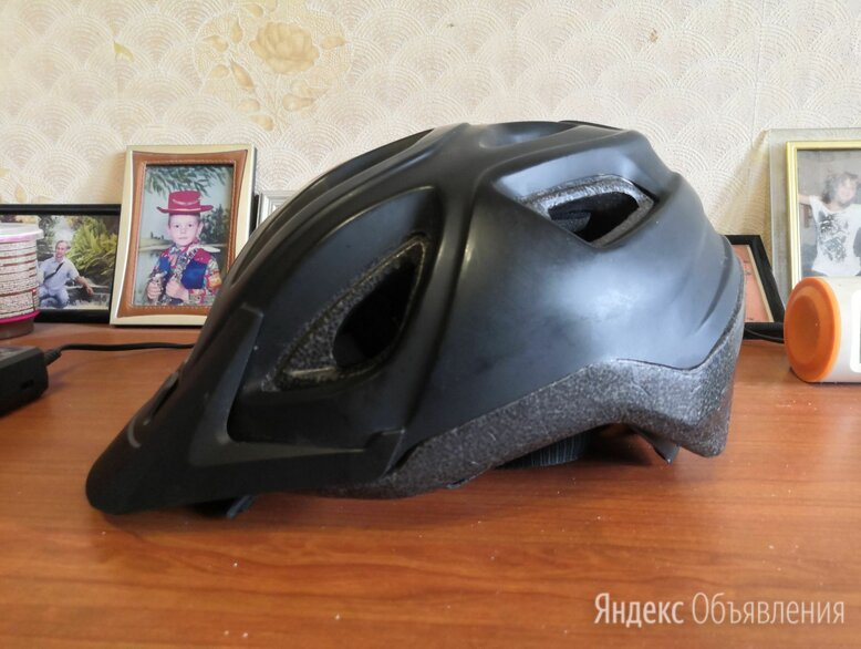 Велосипедный шлем RockRider р-р L по цене 700₽ - Спортивная защита, фото 0