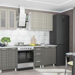 "Мебель для кухни - Комплект кухни 2,0 м ""Бомбей-евро"" сандал серый, сандал белый, 0"