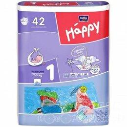 Подгузники - Подгузники ХЭППИ  Ньюборн от 2-5 кг 42 шт, 0