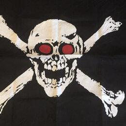 Карнавальные и театральные костюмы - Пиратская бандана череп и кости, 0