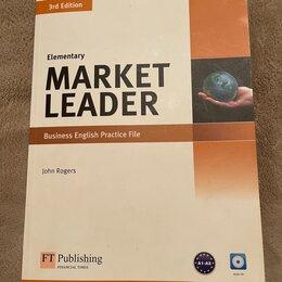 Учебные пособия - Учебник + Рабочая тетрадь по английскому Marker Leader, 0