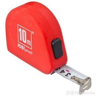 ЕРМАК/Jobi Рулетка 10м 658-072 по цене 253₽ - Измерительные инструменты и приборы, фото 0