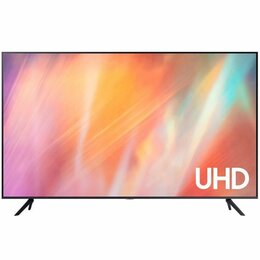 "Телевизоры - Телевизор Samsung UE43AU7100U 42.5"" (2021), черный, 0"