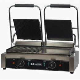 Электрические грили и шашлычницы - Гриль контактный Hurakan HKN-PE44MT, 0