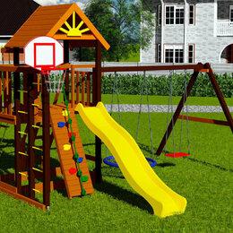 Игровые и спортивные комплексы и горки - Детская площадка Марк 1, 0