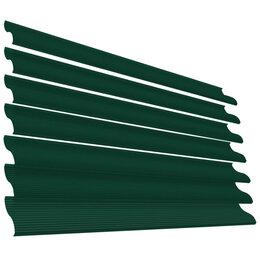 Заборы, ворота и элементы - Ламель Еврожалюзи RAL6005 Зеленый Мох полиэфирная эмаль в цвет, 0
