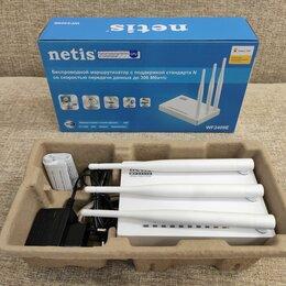 Оборудование Wi-Fi и Bluetooth - Роутер Netis WF2409E, 0