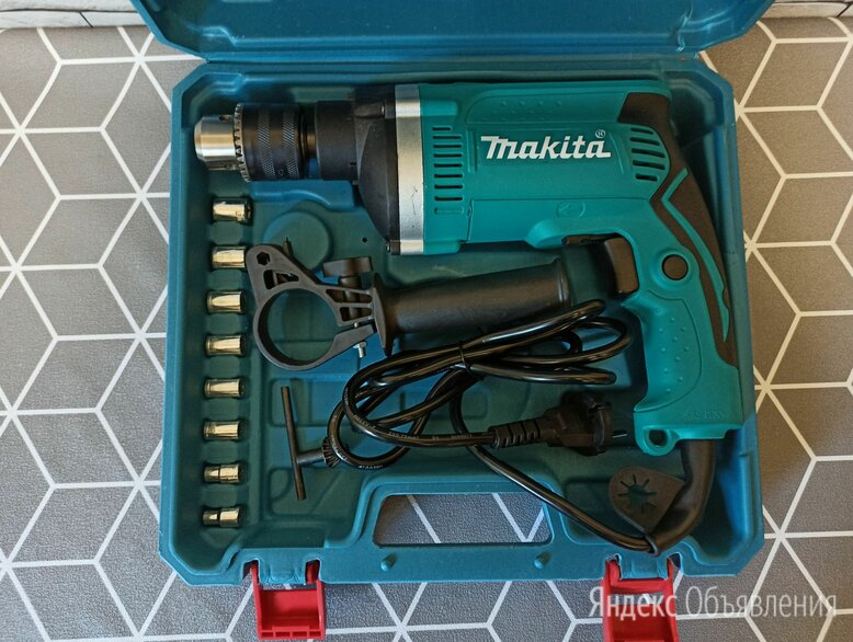 Дрель Makita по цене 3500₽ - Дрели и строительные миксеры, фото 0