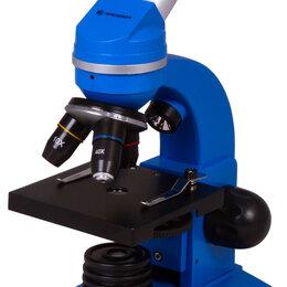 Микроскопы - Микроскоп Bresser Junior Biolux SEL 40–1600x, синий, 0