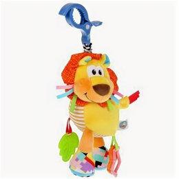Погремушки и прорезыватели - 306988   Текстильная игрушка погремушка лев подвеска с вибрацией на блистере Умк, 0