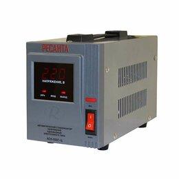 Источники бесперебойного питания, сетевые фильтры - Стабилизатор напряжения АСН-500/1-Ц 1ф 0.5кВт IP20 релейный Ресанта 63/6/1, 0