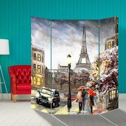 "Ширмы - Ширма ""Париж"", 160 × 160 см, 0"