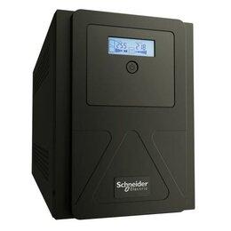 Источники бесперебойного питания, сетевые фильтры - Источник бесперебойного питания APC Easy UPS SMVS 3000В.А 230В SchE SMVS..., 0