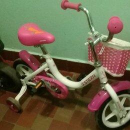 Трехколесные велосипеды - Детский двухколесный велосипед , 0