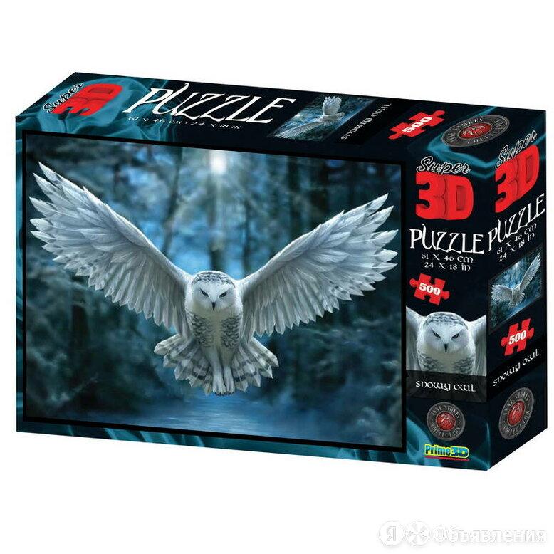 Стерео пазл Ночной страж PRIMЕ 3D 500 деталей по цене 1190₽ - Пазлы, фото 0