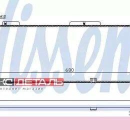 Серверы - NISSENS 632921 Радиатор 680x262 , 0