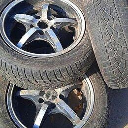 Шины, диски и комплектующие - Колеса, литые диски с шинами R 16 Dunlop, всесезонные, 0