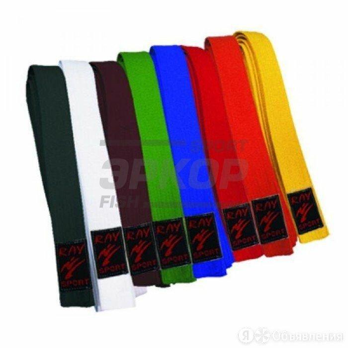 Пояс для кимоно Рэй-Спорт 2,6 м (х4) по цене 380₽ - Аксессуары для силовых тренировок, фото 0