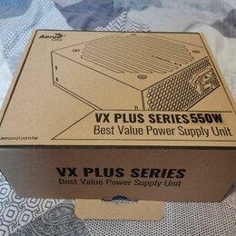Блоки питания - Блок питания Aerocool VX PLUS 550W, 0