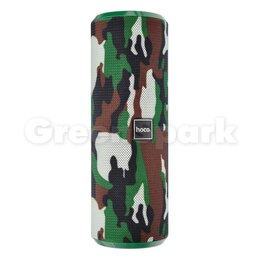 Акустические системы - Колонка-Bluetooth HOCO BS33 Voice (зеленый камуфляж), 0