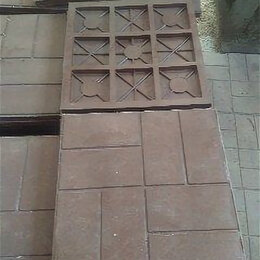 Тротуарная плитка, бордюр - Плитка тротуарная полимерпесчаная 330х330х30, 0