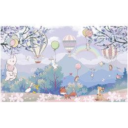 Обои - Обои ТОП ФОТООБОИ для детей животные на воздушных шарах, 0