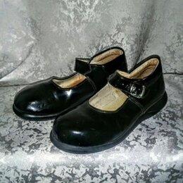 Балетки, туфли - Туфли  34  размер  школьные натуральная кожа лаковые, 0