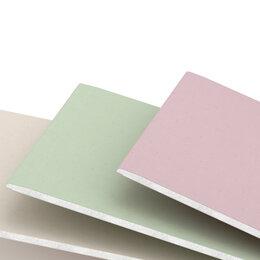 Изоляционные материалы - Влагостойкий гипсокартон 12,5 оптом и в розницу, 0