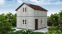 Готовые строения - Дом из блоков под ключ 6 х 6, 0