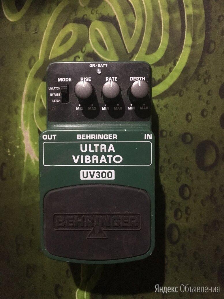 Behringer педаль эффектов uv300 по цене 2000₽ - Процессоры и педали эффектов, фото 0