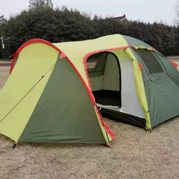 Палатки - Палатка 2 местная с тамбуром, 0