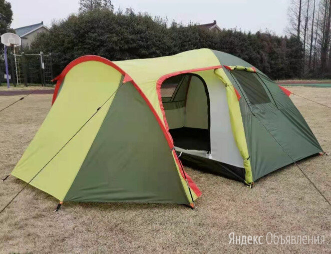 Палатка 2 местная с тамбуром по цене 4500₽ - Палатки, фото 0