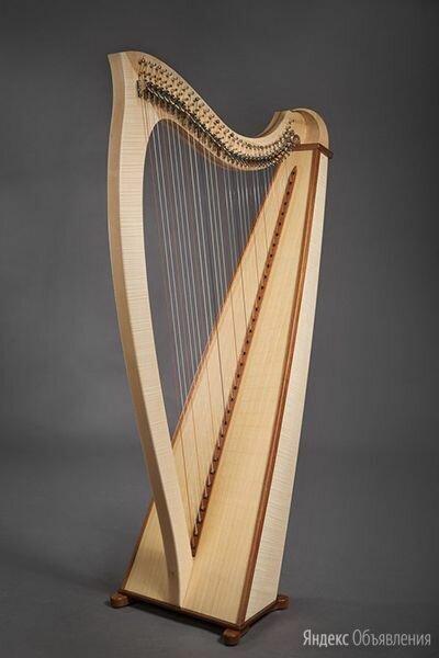 HLB3401 Мастерская Прохора Лапина Tineola Арфа леверсная 34 струны. Доставка по цене 110200₽ - Щипковые инструменты, фото 0