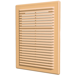Вентиляционные решётки - Решетка 183х253   бежевая   1825P   ЭРА, 0