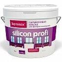 Краски - Bayramix.  Silicon Profi, краска  фасадная, силиконовая, матовая,  9л., 0