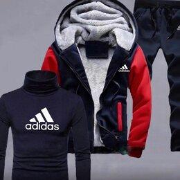 Спортивные костюмы - Тёплый мужской спортивный костюм Adidas р-ры 44-56, 0