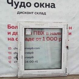Окна - Окно, ПВХ Ivaper 62мм, 980(В)х910(Ш) мм, 0
