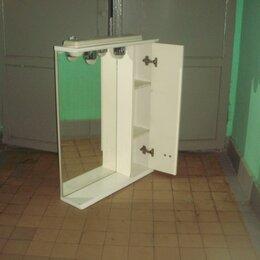 Полки, шкафчики, этажерки - Шкафчик с зеркалом и подсветкой для ванной комнаты, 0